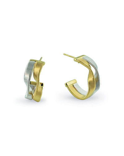 Marrakech Supreme Two-Strand Hoop Earrings
