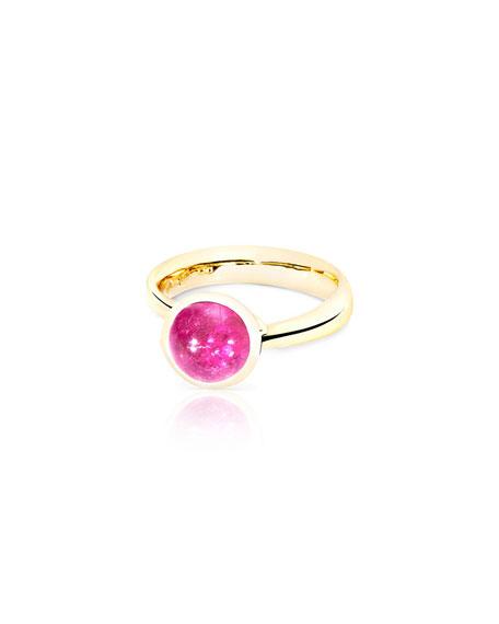 Tamara Comolli Bouton 18k Yellow Gold Pink Tourmaline Ring