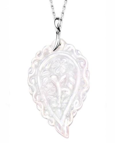 India Leaf Pendant