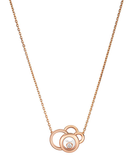 Happy Dreams Necklace with Diamond in 18K Rose Gold