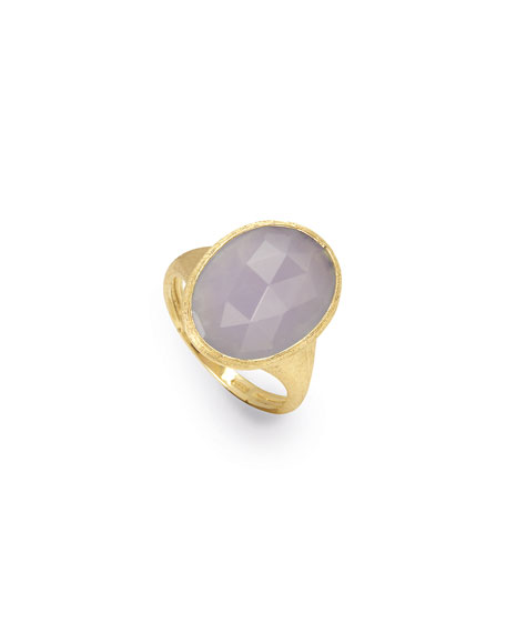 Siviglia Faceted Chalcedony Ring