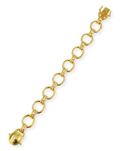 Rimini 19k Diamond Link Bracelet