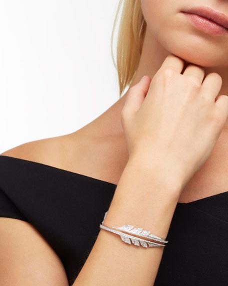 Magnipheasant Diamond Bracelet in 18K White Gold