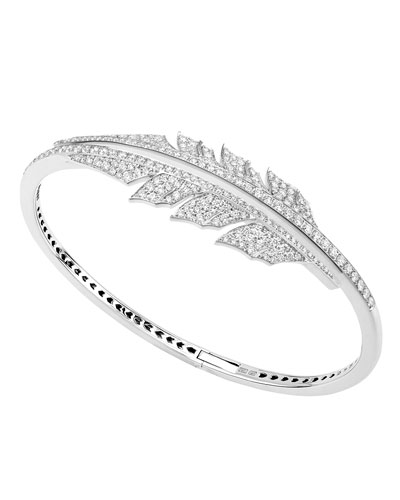 Magnipheasant Diamond Bracelet in 18K White Gold