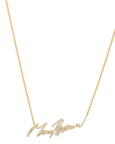 Stephen Webster MORE PASSION PAVÉ DIAMOND PENDANT NECKLACE