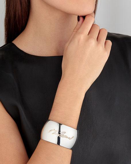 More Passion Pavé Diamond Cuff Bracelet