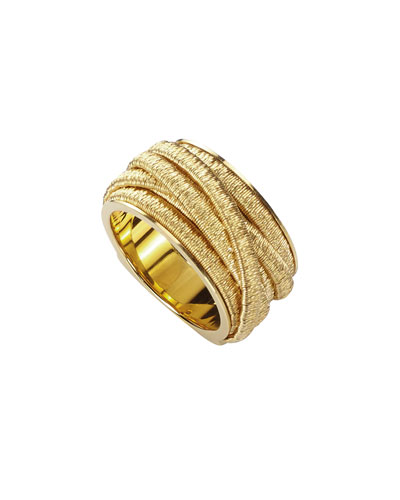 Cairo 18k Gold Medium Ring
