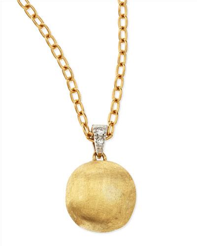 Delicati Diamond-Bale Pendant Necklace