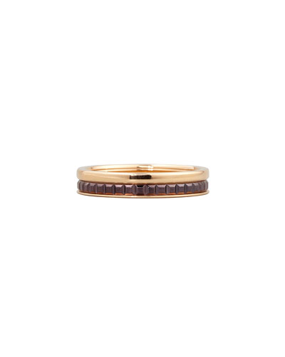 Quatre Follies 18k Gold Band Ring, Size 7