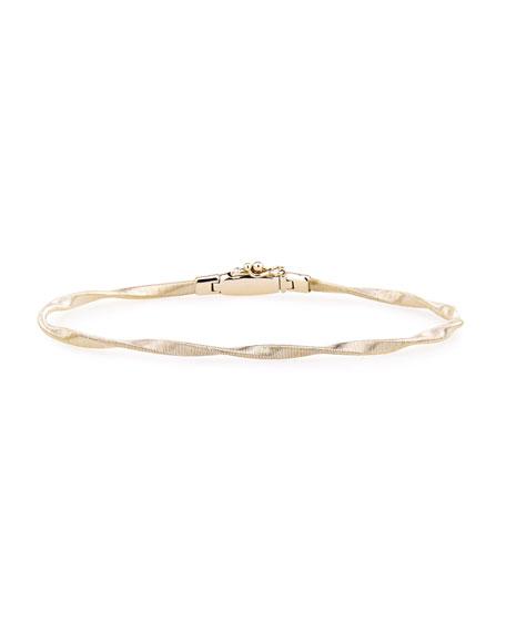Marrakech 18k Gold Twisted Bangle Bracelet