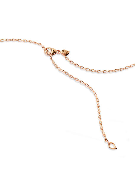 "Image 3 of 5: 18K Rose Gold Eight Chain, 35""L"