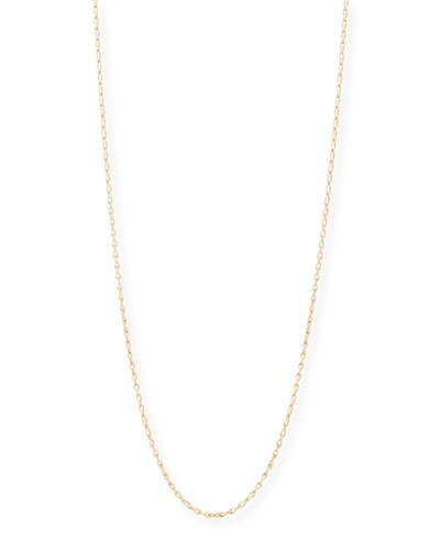 18K Rose Gold Eight Chain, 35