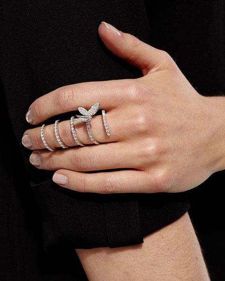 Magic Snake Diamond Butterfly Ring