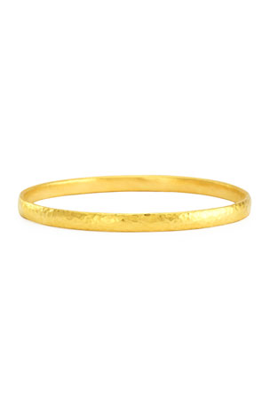 Gurhan Skittle 24k Gold Bangle Bracelet
