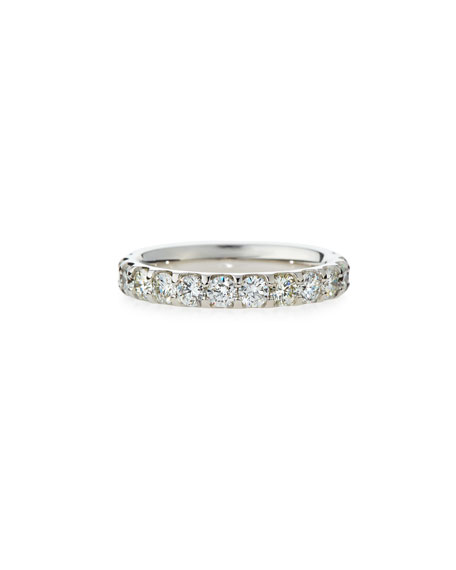 Diamond Eternity Band in 18K White Gold, 2.0 tdcw