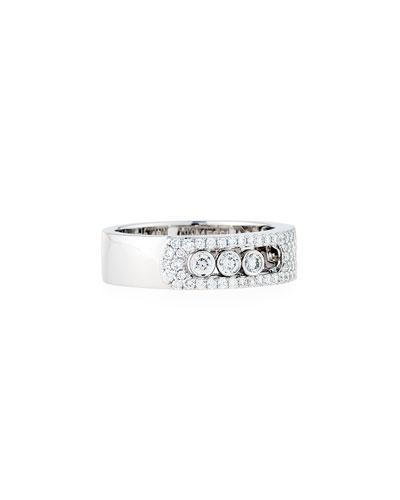 Move Noa Pavé Diamond Ring, Size 53