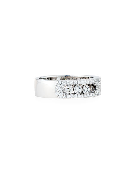 Move Noa Pavé Diamond Ring, Size 53