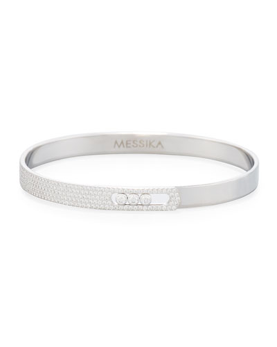 Move Noa Pavé Diamond Bangle Bracelet