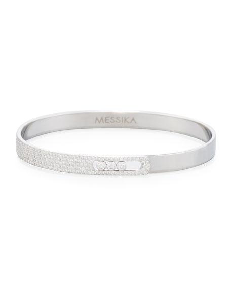 Move Noa Pavé Diamond Bangle Bracelet
