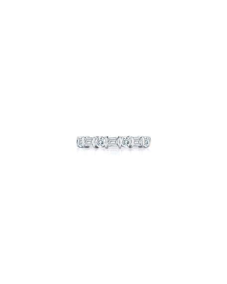 diamond platinum eternity rings gia diamonds baguette gold wedding set ruby princess band bands htm collection round premier prong cut
