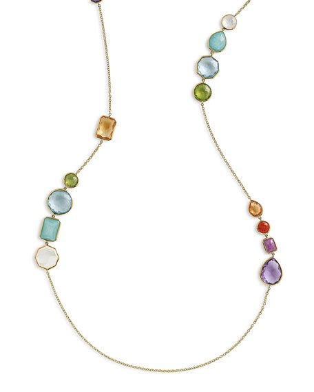 Rock Candy® Gelato Hero Necklace in Summer Rainbow, 42""
