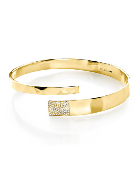 18K Senso™ Bangle with Diamonds