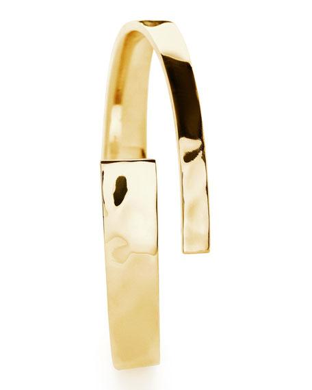 18K Senso Hinge Cuff Bracelet