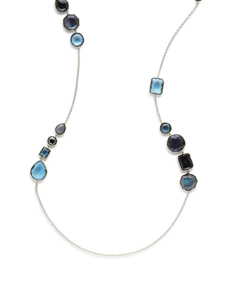Ippolita 18K Rock Candy Gelato Hero Necklace in