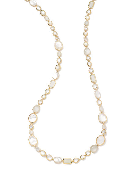 "18k Rock Candy Sofia Necklace in Flirt, 39""L"