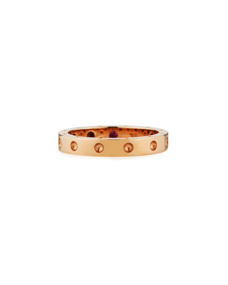 Symphony Collection 18K Gold Pois Mois Ring, Size 6.5