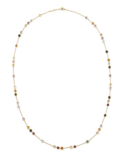 Jaipur Mini Mixed-Stone Necklace, 35