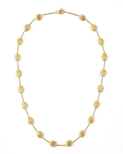 Siviglia 18K Gold Single-Strand Necklace, 18
