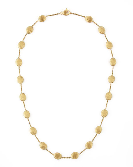 "Siviglia 18K Gold Single-Strand Necklace, 18""L"