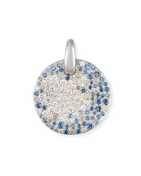 Pomellato sabbia diamond sapphire pendant in 18k white gold sabbia diamond sapphire pendant in 18k white gold aloadofball Choice Image