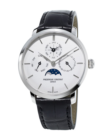 42mm Slimline Perpetual Calendar Manufacture Watch