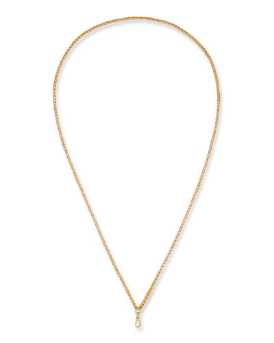 14k Double-Link Chain Necklace