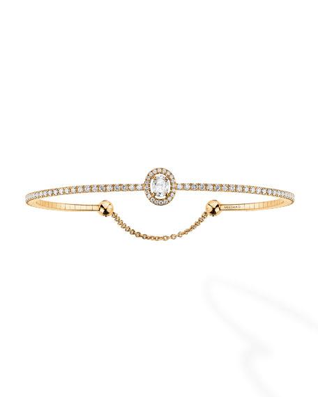 Glam'Azone Diamond Bracelet in 18K Yellow Gold