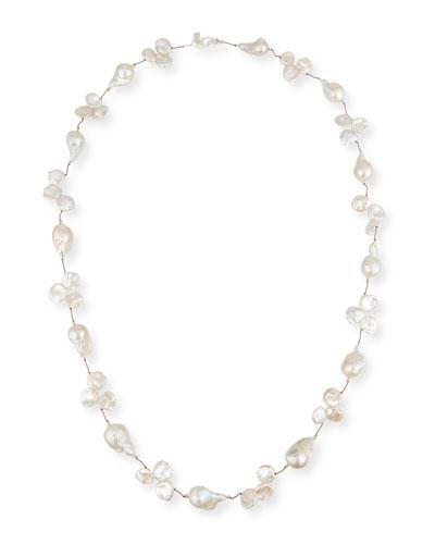 Baroque & Keshi Pearl Necklace, 35