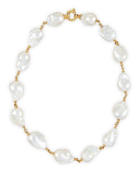 New Essentials Baroque Pearl Necklace