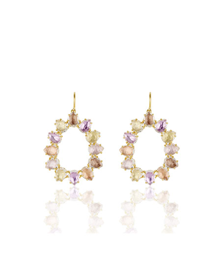 Larkspur & Hawk Caterina Small Open Frame Earrings