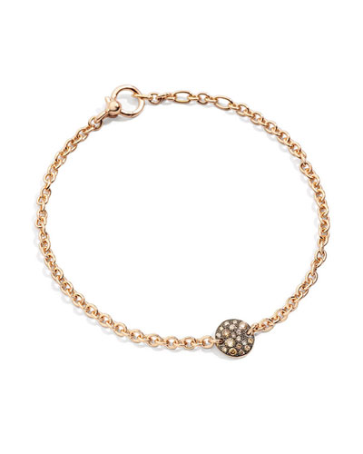 18k Rose Gold Sabbia Diamond Bracelet