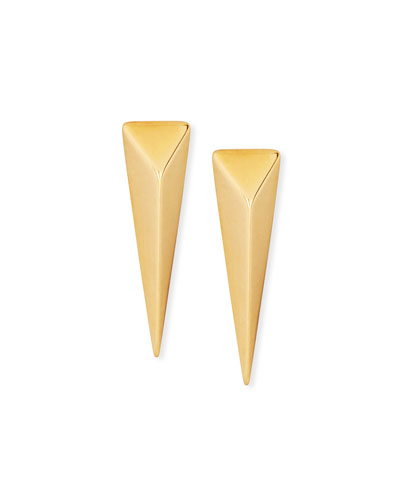 Stinger Studs 18K Gold Earrings