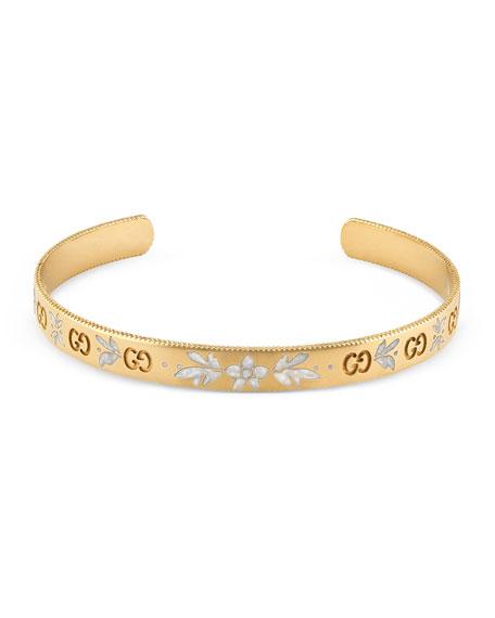 Gucci Icon Bangle Bracelet in 18K Gold