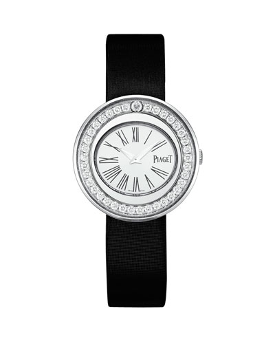 Possession 18k White Gold Watch with Diamonds