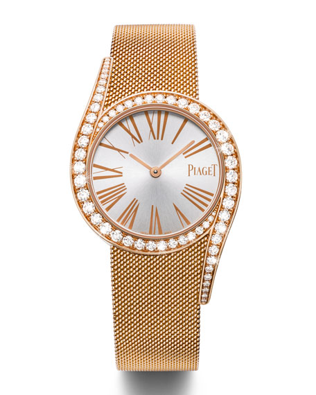 Limelight Gala 32mm Watch in 18K Rose Gold with Diamonds