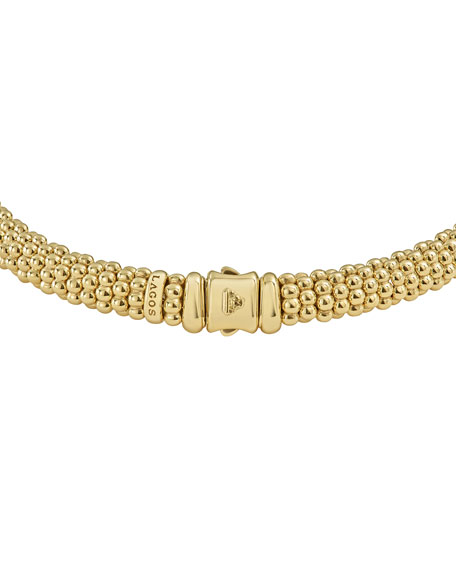 """9mm Caviar Rope Necklace, 16""""L"""