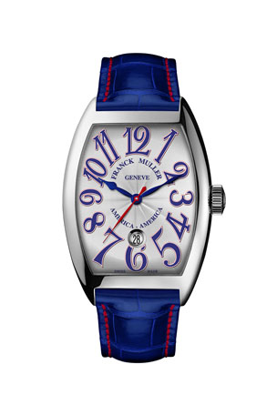 Franck Muller Automatic Watch on Alligator Strap