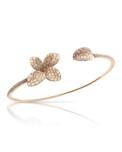 Giardini Segreti Petite Diamond Bracelet in 18K Rose Gold
