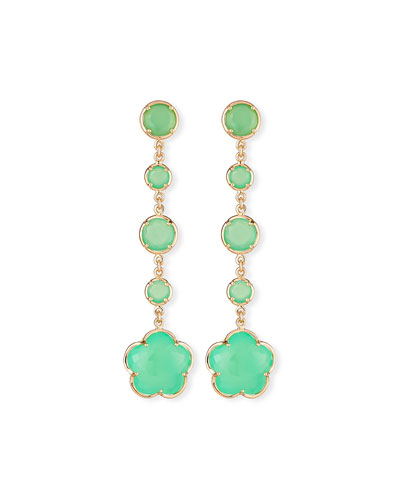 Bon Ton Chrysoprase Drop Earrings