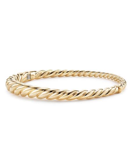 6mm Pure Form 18K Cable Bracelet, Size L